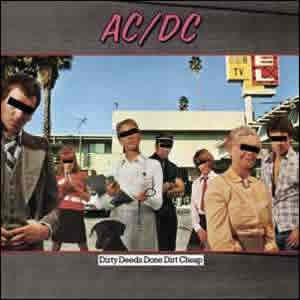 Dirty Deeds Done Dirt Cheap by 1976 AC/DC