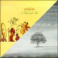 A Trick Of the Tail and Wind & Wuthering by Genesis