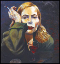 Joni Mitchell Painting