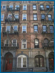 Physical Graffiti Cover Building