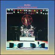 All the World's a Stage by Rush